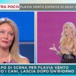 """Mattino 5, Flavia Vento fa chiarezza sul suo ritiro: """"Non c'è la penale"""""""