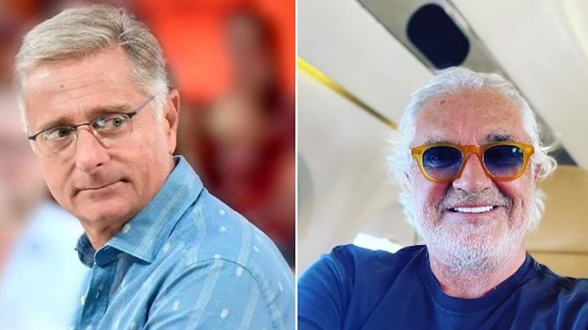 Paolo Bonolis furioso su Flavio Briatore: