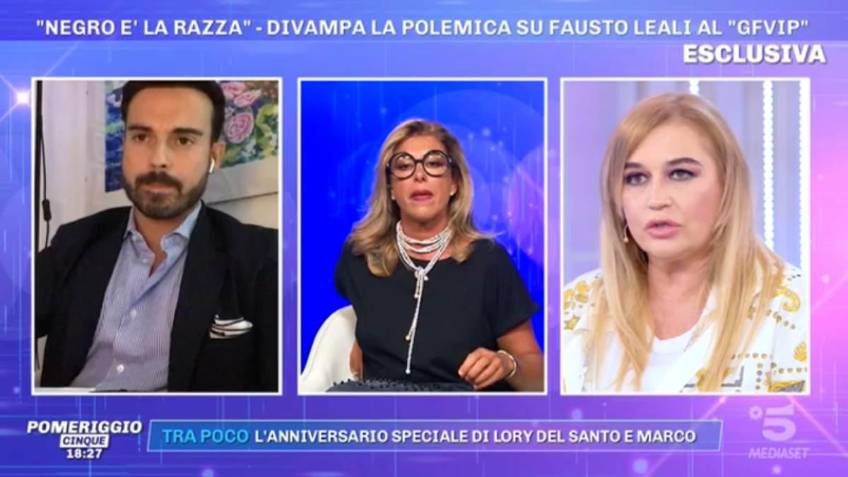 Foto Francesco Fredella Pomeriggio 5
