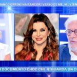 """Alba Parietti, parla Franco Oppini a Domenica Live: """"Dice una bugia"""""""