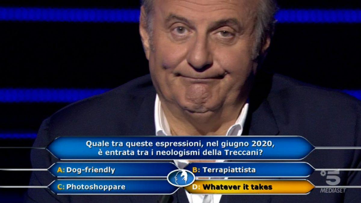 Foto Gerry Scotti Chi vuol essere milionario