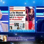 """Patrizia De Blanck, ex amante a Live rivela: """"Non è stata adottata"""""""
