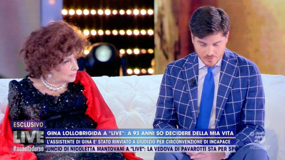 Foto Gina Lollobrigida Andrea Piazzolla Live
