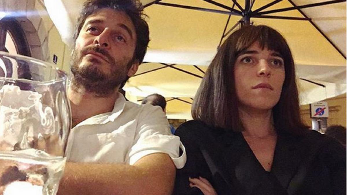Foto Lino Guanciale e Valentina Romani