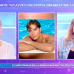 """Lory Del Santo a Pomeriggio 5: """"Massimiliano Morra ha paura delle donne"""""""