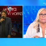 """Domenica In, Mara Venier glissa Enrico Brignano: """"Mi fai passare i guai"""""""
