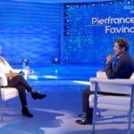 """Domenica In, Mara Venier a Pierfrancesco Favino: """"Non mi stoppare"""""""