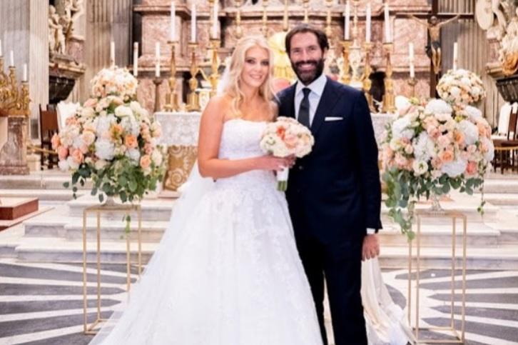 foto matrimonio Eleonora Daniele