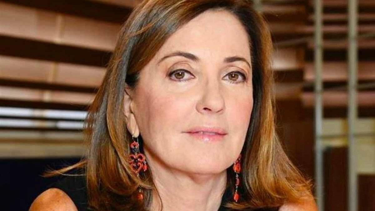 foto di Barbara Palombelli a Forum