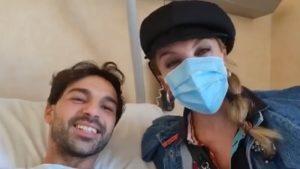 foto Milly Carlucci e Raimondo Todaro operato