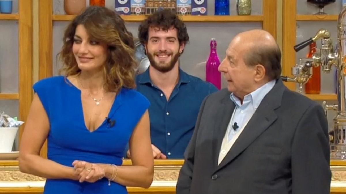 foto di Samanta Togni e Giancarlo Magalli del 25 settembre