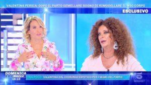 Foto Valentina Persia Domenica Live