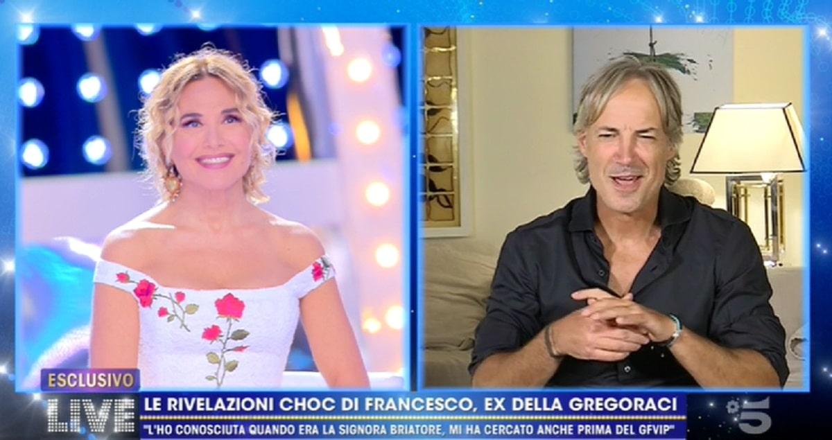 Foto Francesco Bettuzzi su Elisabetta Gregoraci a Live Non è la d'Urso
