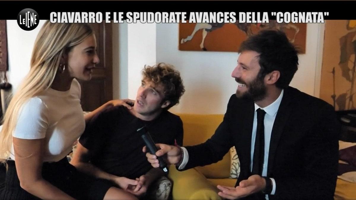 Le Iene Clizia Incorvaia, scherzo a Paolo: