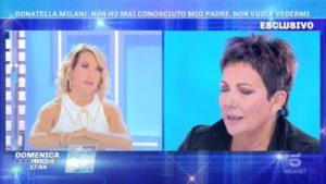 Foto Domenica Live Donatella Milani