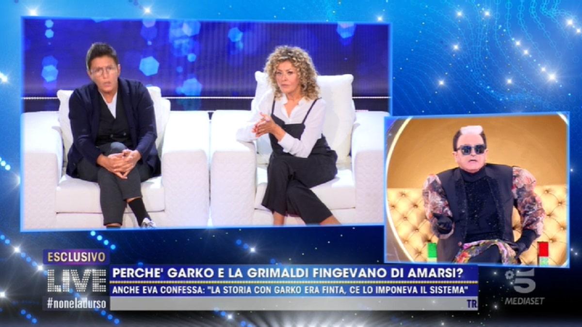 Cristiano Malgioglio gela Eva Grimaldi a Live: