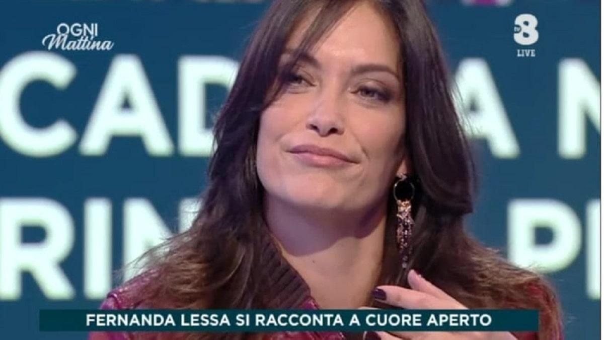 Foto Fernanda Lessa in diretta