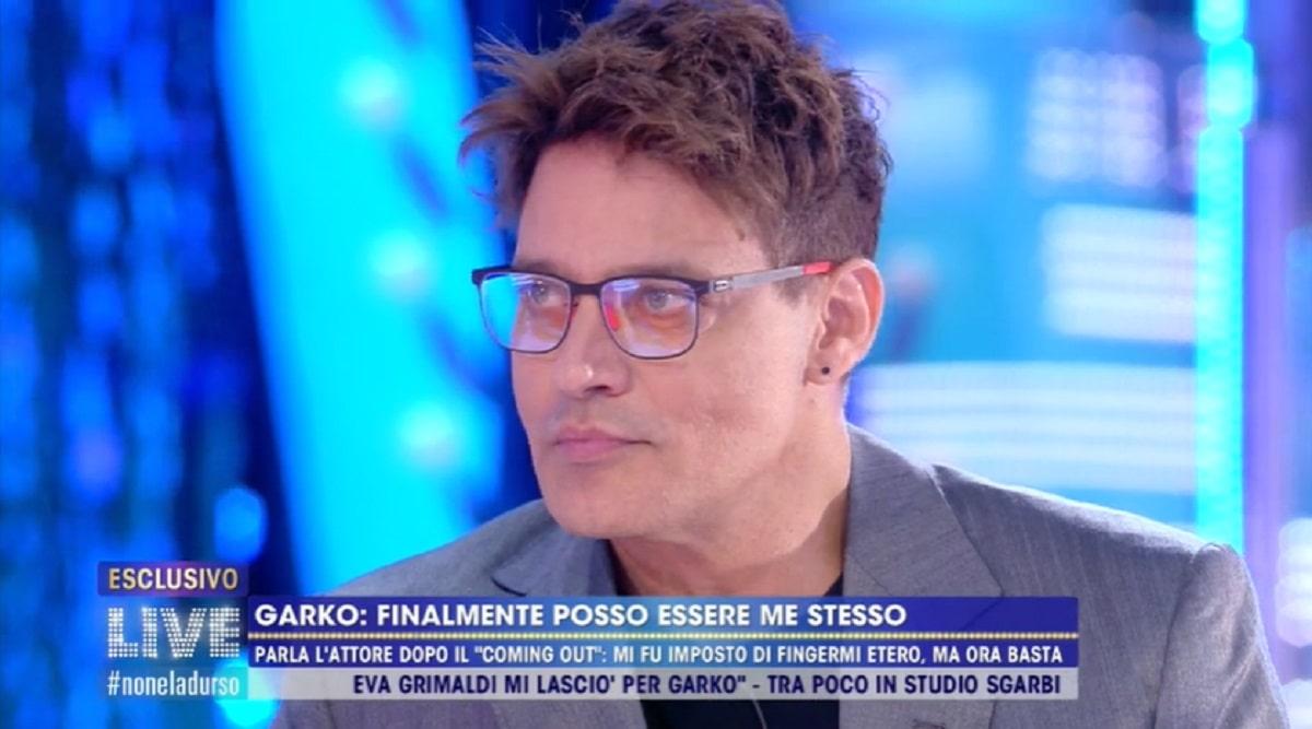 Foto Gabriel Garko a Live Non è La d'Urso