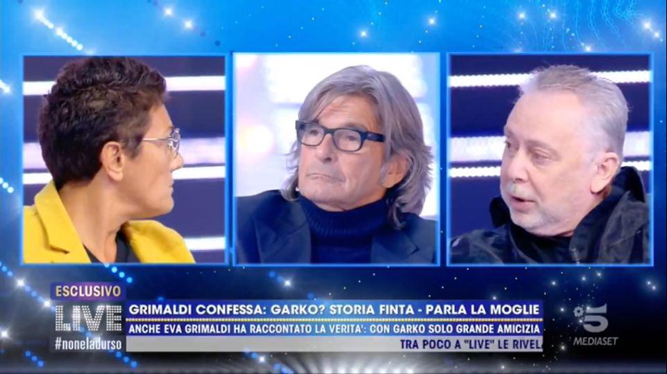 Foto Live Imma Battaglia Lele Mora