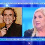 """Maria Teresa Ruta sbugiardata dall'ex del compagno: """"Mi ha umiliato"""""""