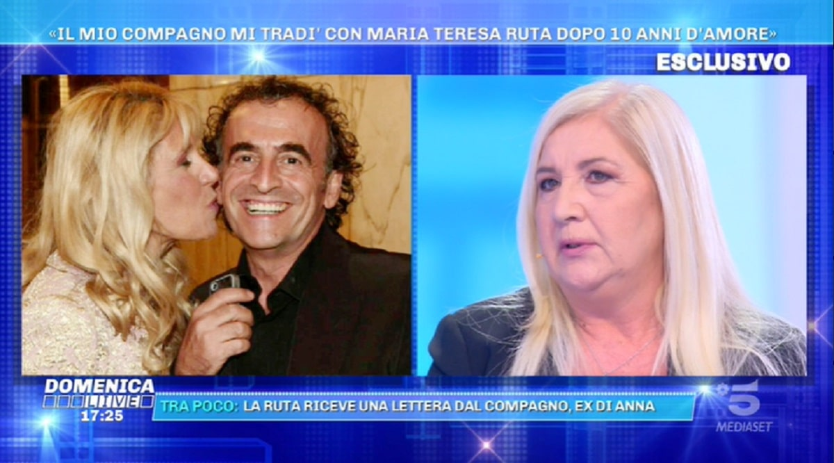 Foto Maria Teresa Ruta Anna Parziale Domenica Live