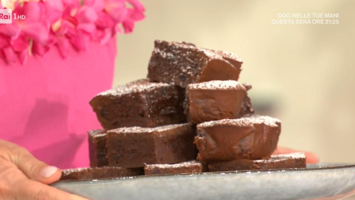 foto È sempre mezzogiorno brownies amarena