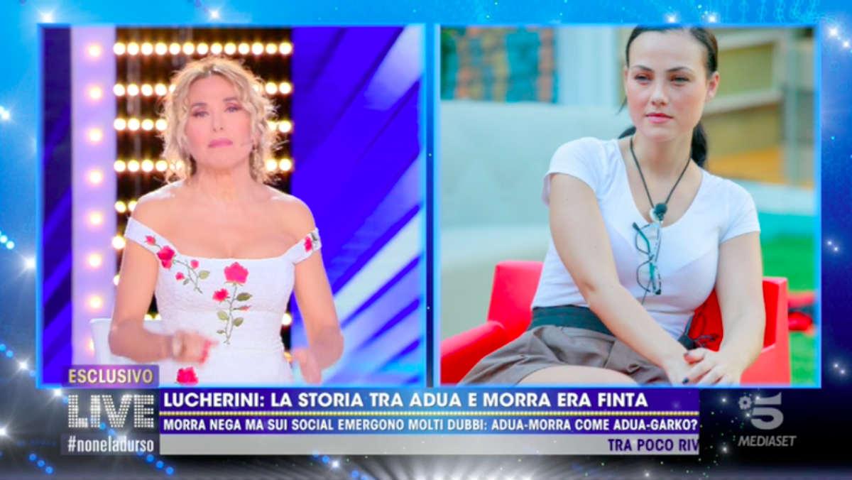 foto Adua Del Vesco gay Massimiliano Morra live non è la d'urso