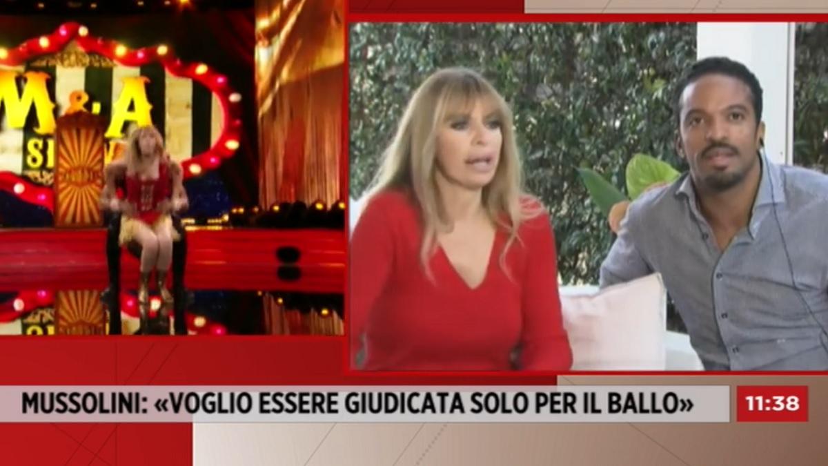 foto Alessandra Mussolini 5 ottobre