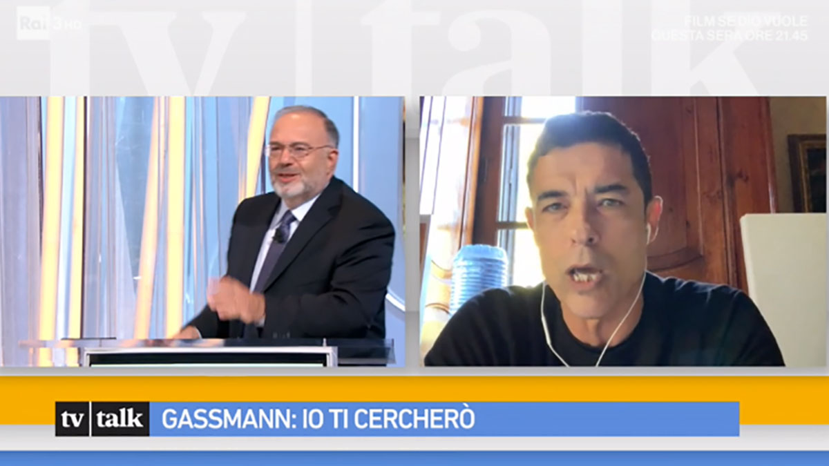 foto Alessandro Gassmann a Tv Talk