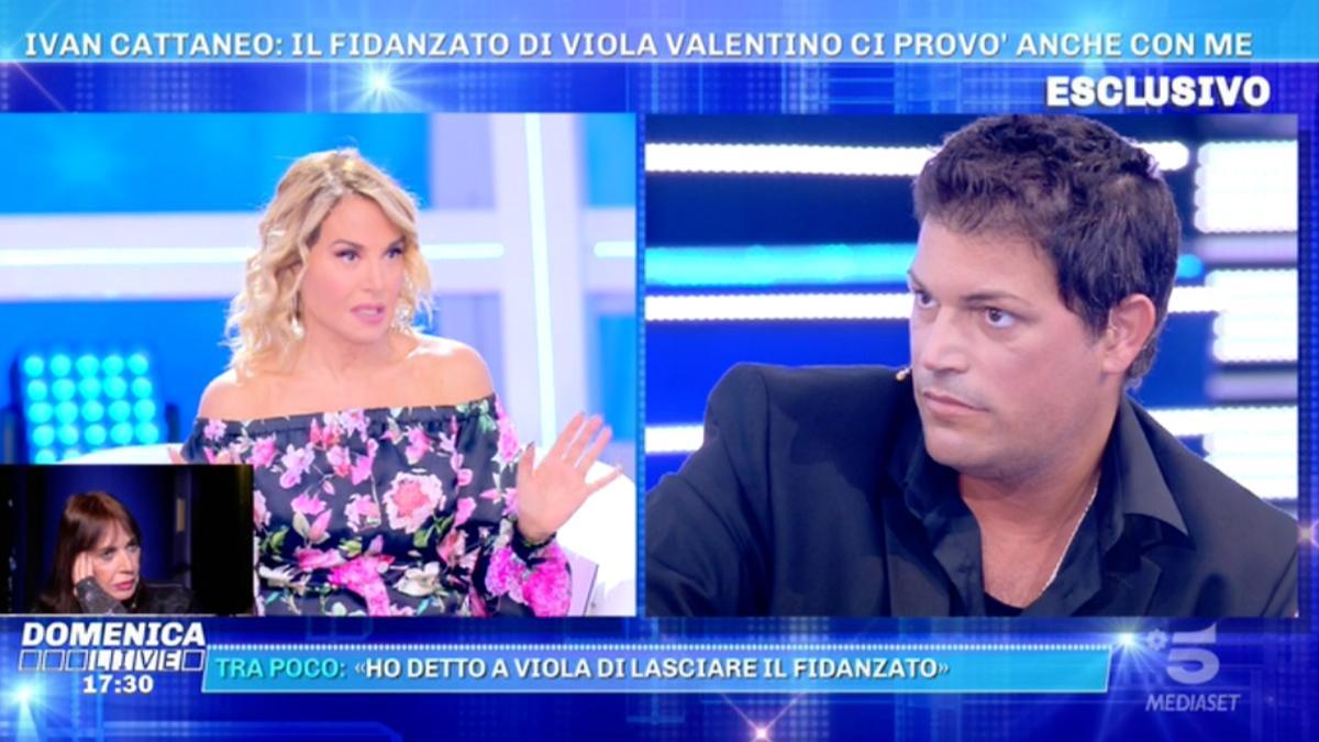 Foto Barbara d'Urso Francesco Mango Domenica Live