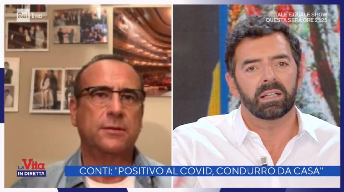 foto di Carlo Conti e Alberto Matano