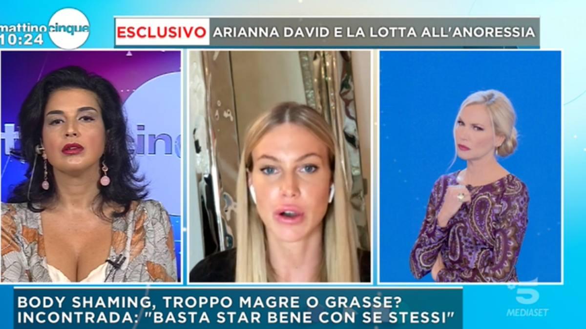 Foto Federica Panicucci Claudia Letizia Mattino 5