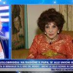 """Gina Lollobrigida a Live non è la D'Urso: """"Devono sbatterlo in galera"""""""
