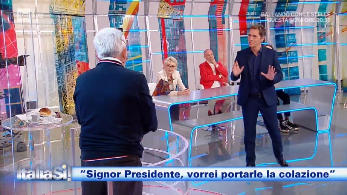 foto di Marco Liorni a Italia Si del 10 ottobre