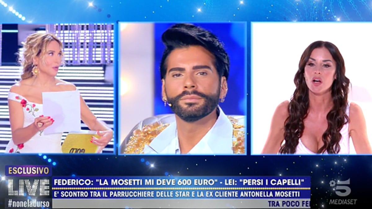 foto Antonella Mosetti e Federico Fashion Style a Live