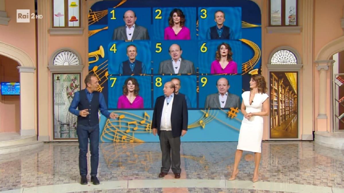 foto di Giancarlo Magalli, Palatresi e Togni a I Fatti Vostri del 30 ottobre