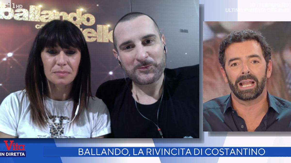 foto Alberto Matano e Costantino Della Gherardesca a La vita in diretta