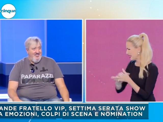 foto Mattino 5 Federica Panicucci contro ospite