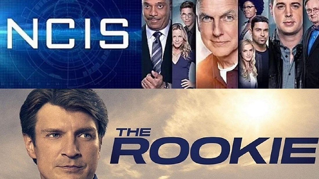 foto loghi the rookie e ncis