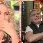 """Paolo Bonolis, battuta piccante ad Antonella Clerici: """"Sei sempre calda"""""""