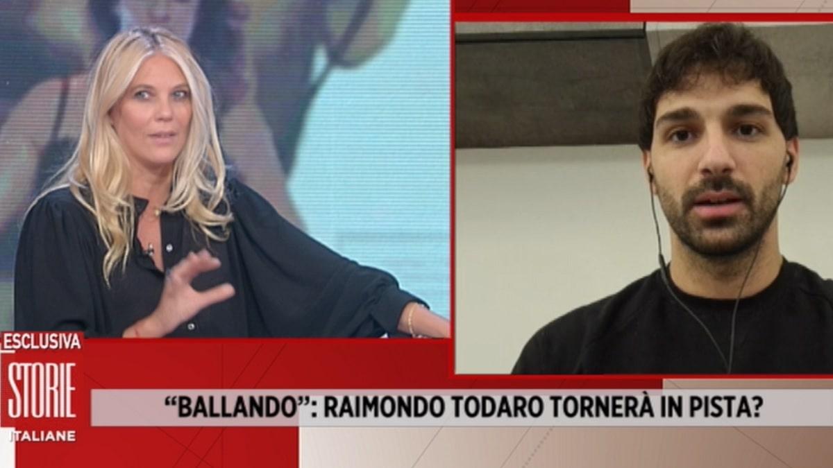 foto Raimondo Todaro a Storie Italiane 2 ottobre
