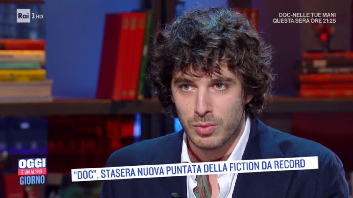foto di Pierpaolo Spollon, attore di Riccardo Bonvenga in Doc