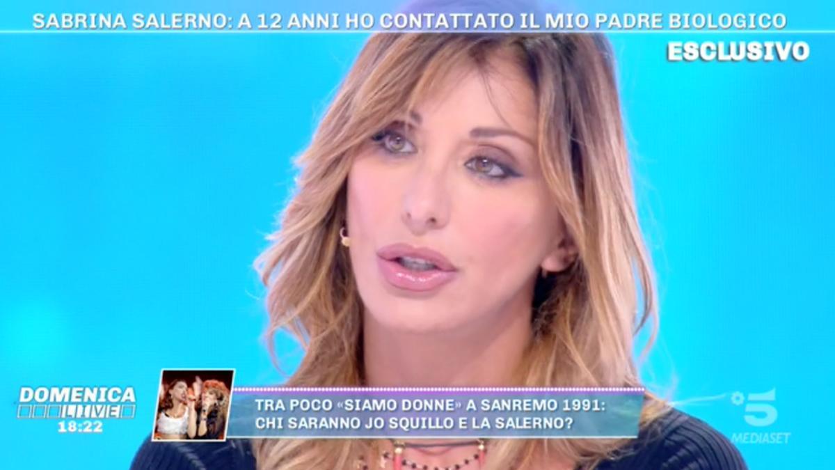 Foto Sabrina Salerno Domenica Live