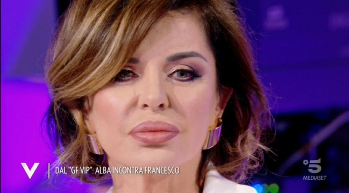 Foto Alba Parietti Confessione Drammatica Verissimo