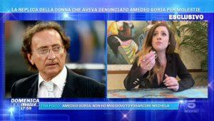 Foto Domenica Live Accuse Di Molestie Ad Amedeo Goria