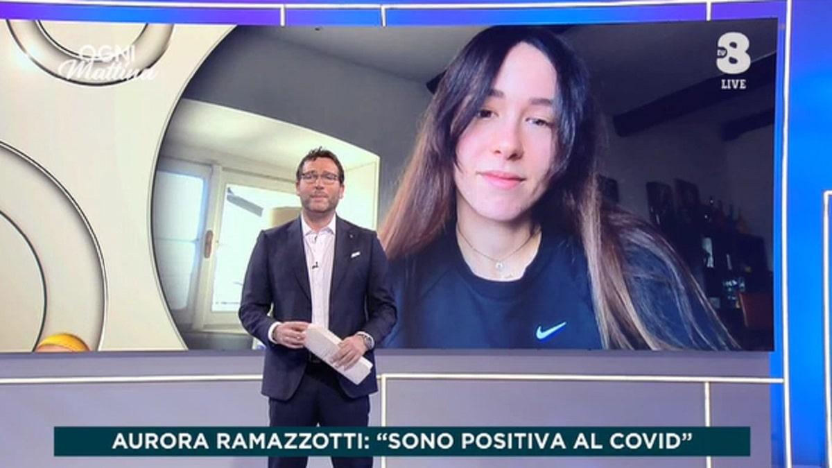 Aurora Ramazzotti positiva al covid: anche il fidanzato sta male