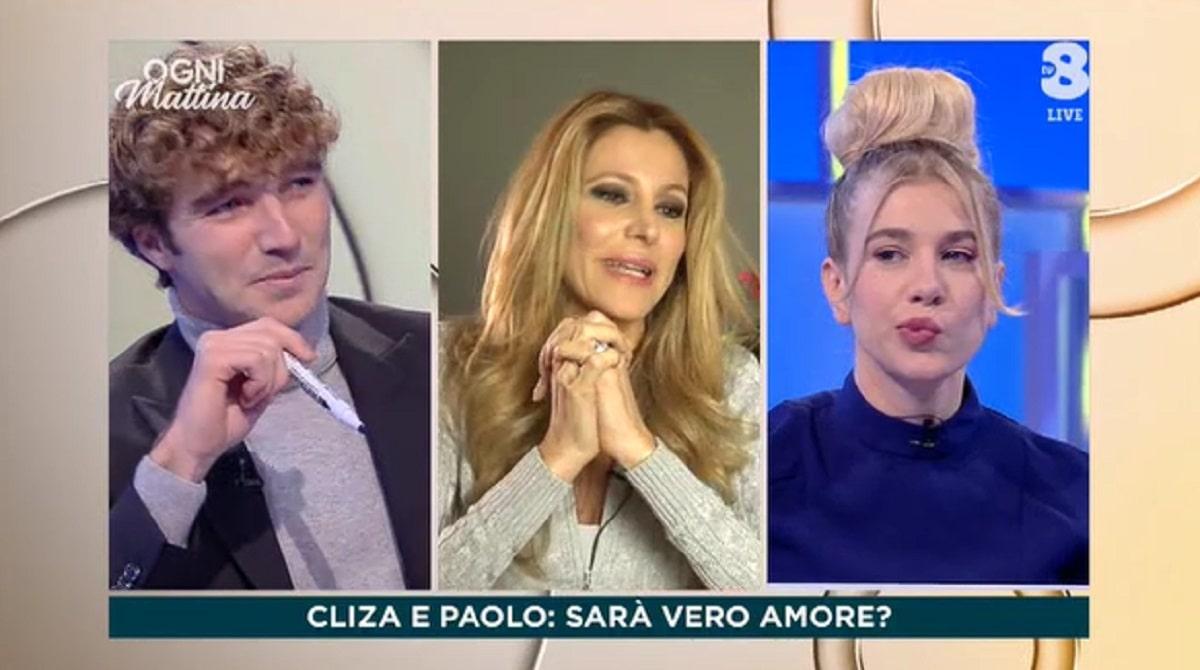 Foto Paolo Ciavarro e Clizia Incorvaia Ogni Mattina