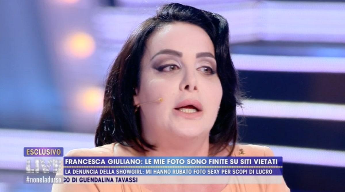 Foto Live Non E' La D'Urso Francesca Giuliano