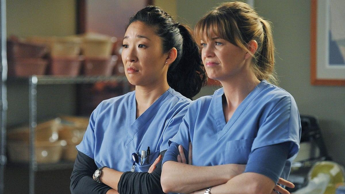 Foto Grey's Anatomy - Ellen Pompeo e Sandra Oh