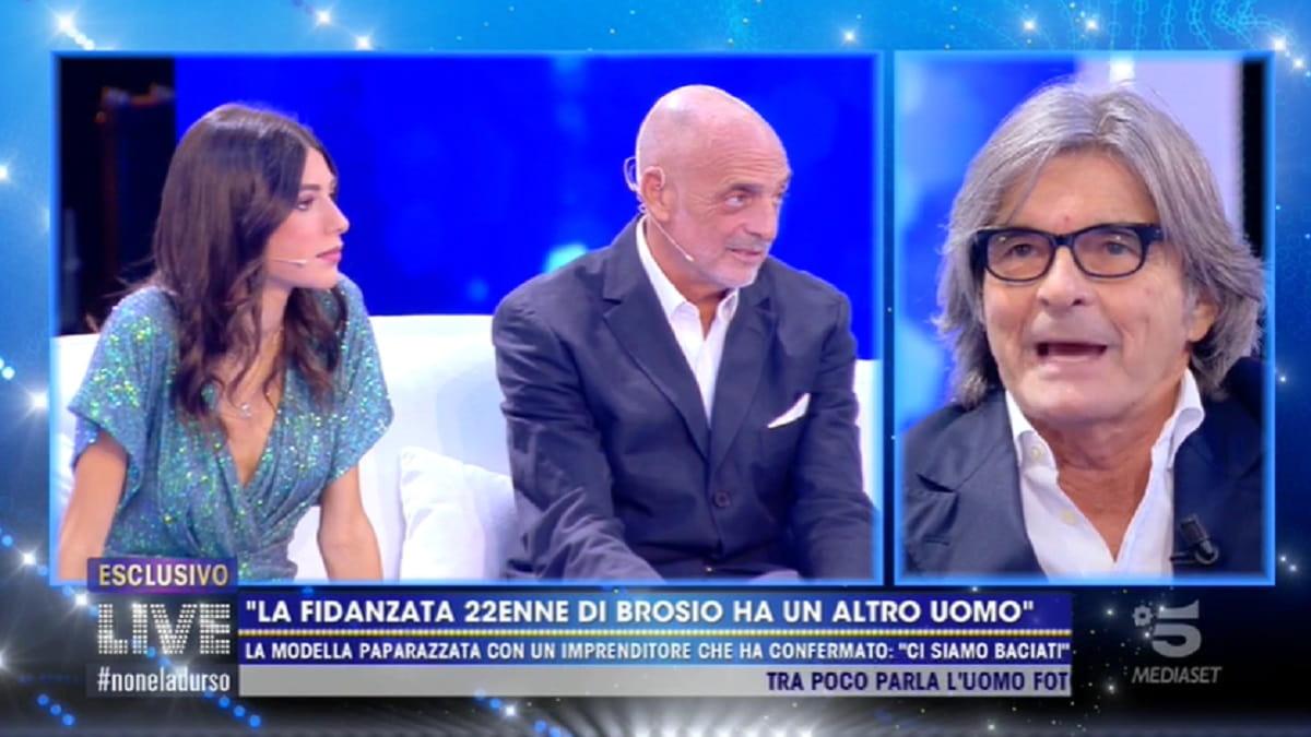 Foto Paolo Brosio Tradimento Fidanzata Live Non E' La D'urso